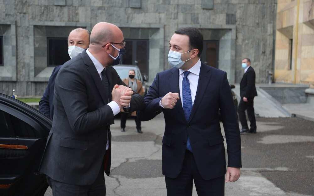 პრემიერ-მინისტრი ევროპული საბჭოს პრეზიდენტს შეხვდა