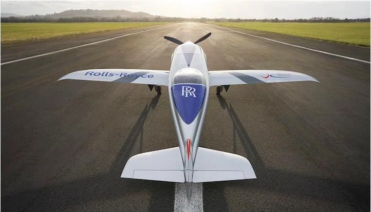 Rolls-Royce-მა მსოფლიოში ყველაზე სწრაფი ელექტრო თვითმფრინავი შექმნა