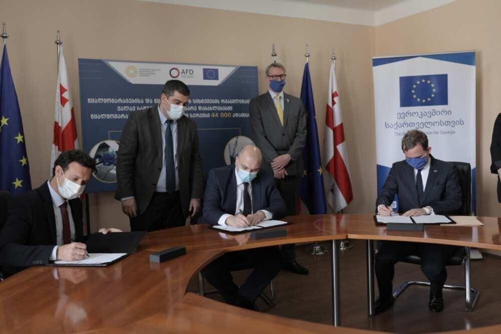 EU ხაშურის წყალმომარაგების რეაბილიტაციას €7.15 მლნ-იანი გრანტით დააფინანსებს