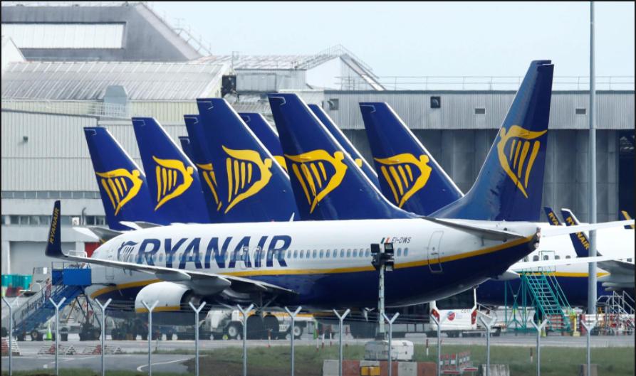 Ryanair: ევროპაში ვაქცინაციის დაბალი ტემპი ავიაკომპანიის მოლოდინებს ცვლის