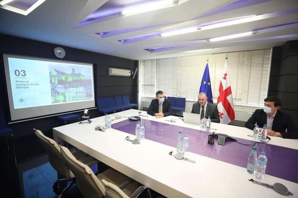მინისტრმა საერთაშორისო ინვესტორებთან ონლაინშეხვედრები დაიწყო - თემა ევრობონდებია