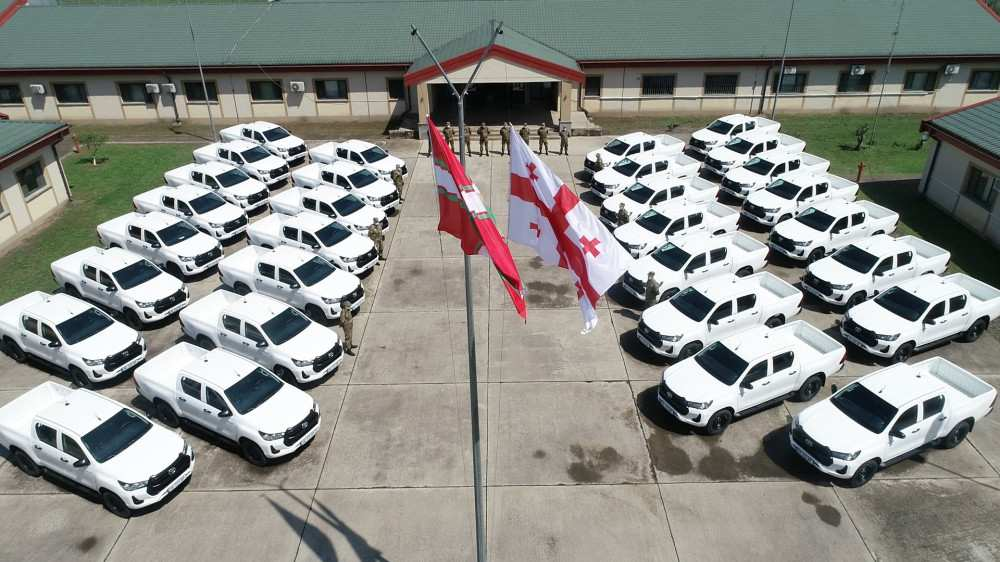 ევროკავშირმა საქართველოს სასაზღვრო პოლიციას 30 ავტომობილი გადასცა