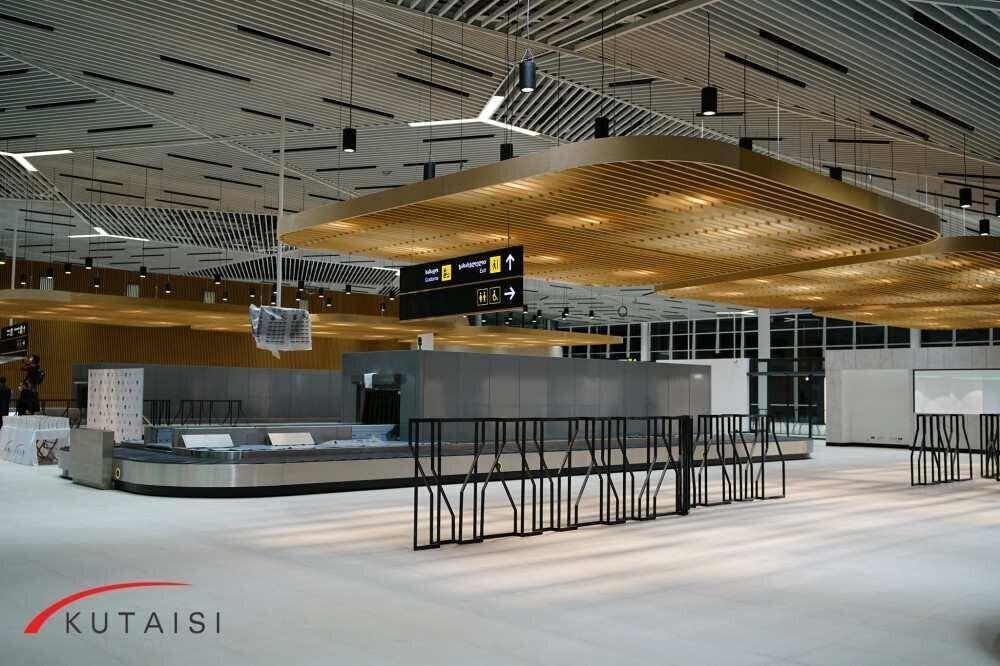 ქუთაისის განახლებული აეროპორტი მგზავრებისთვის გაიხსნა