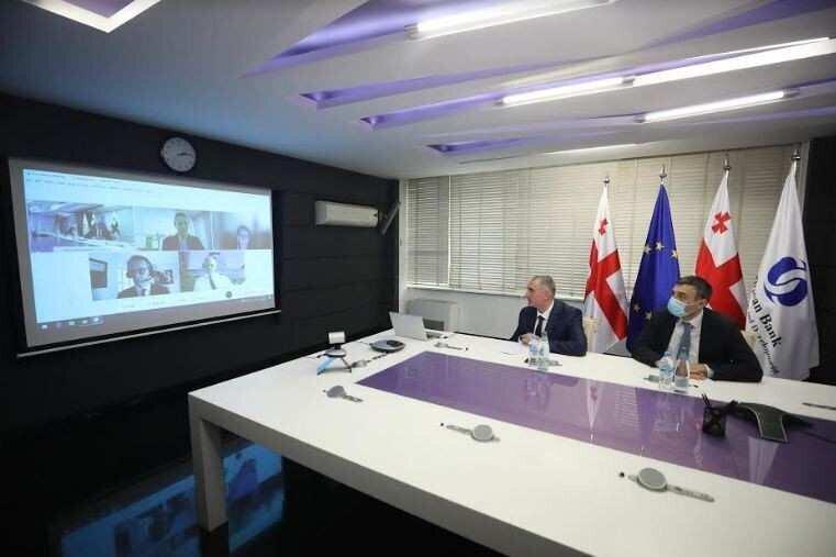 ლაშა ხუციშვილმა და EBRD-ის მმართველმა დირექტორმა პარტნიორობის საკითხები განიხილეს