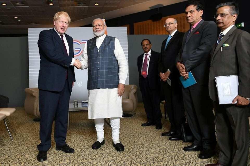 დიდი ბრიტანეთი და ინდოეთი $1.4 მლრდ-ის სავაჭრო ხელშეკრულებას გააფორმებენ