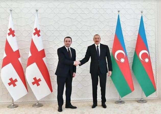 """""""ვიცი, საქართველოში მუშაობა ბევრ აზერბაიჯანულ კომპანიას სურს""""  - ალიევი"""