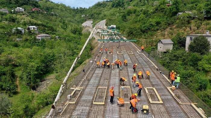 მინისტრი - ბათუმის შემოვლითი გზის მშენებლობა დასრულების ფაზაში გადავიდა