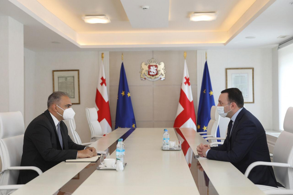 PM Met With IMF Resident Representative For Georgia
