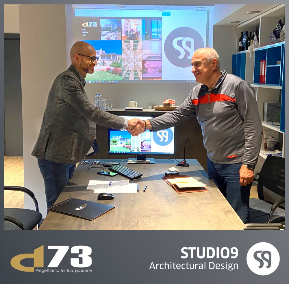 Studio 9 Signs A Cooperation Agreement With Italian Company D73.