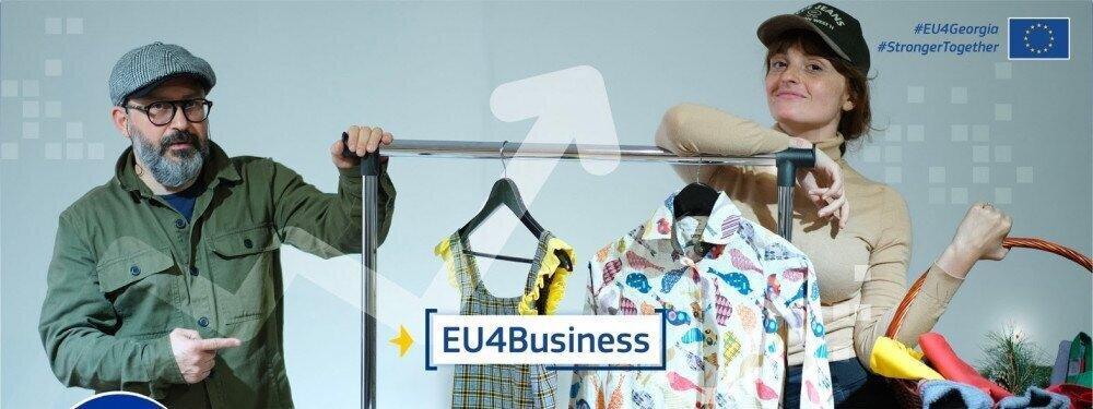 """""""ევროკავშირი, მისი EU4Business პროგრამით, საქართველოში კერძო სექტორის უმსხვილესი მხარდამჭერია"""""""