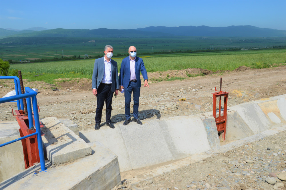 Irrigation Infrastructure To Be Arranged With Investment Of 3.2 MLN in Gori Municipality