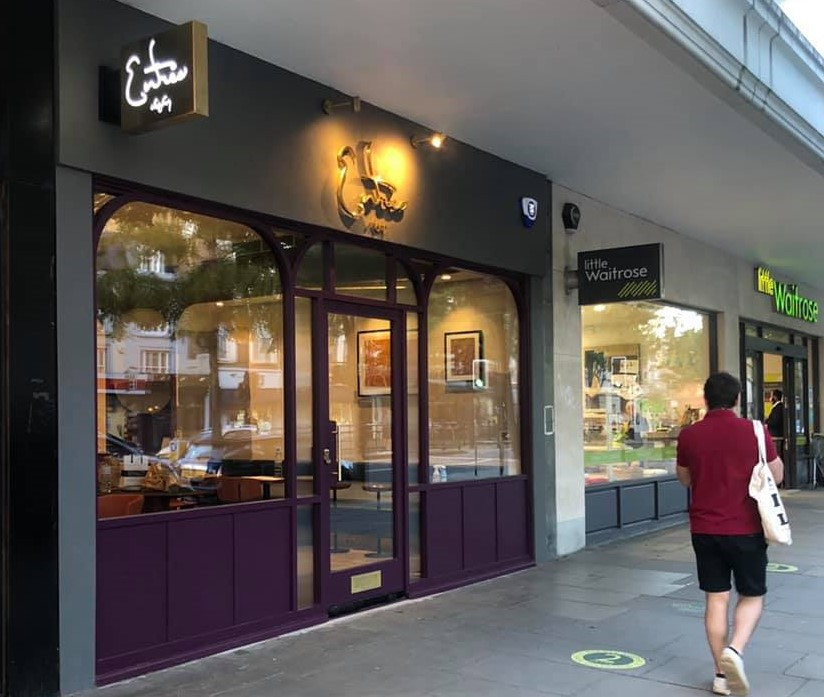 Entrée Opens Its First Branch in London