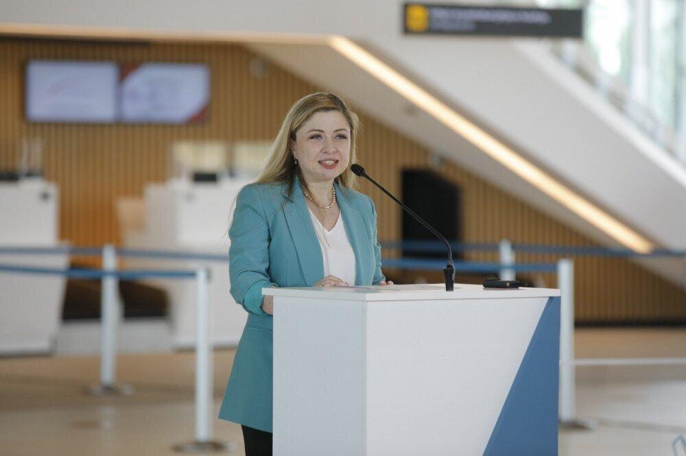 თამარ არჩუაძე: ქუთაისის განახლებული აეროპორტი მომავალში 1200-მდე ადამიანს დაასაქმებს