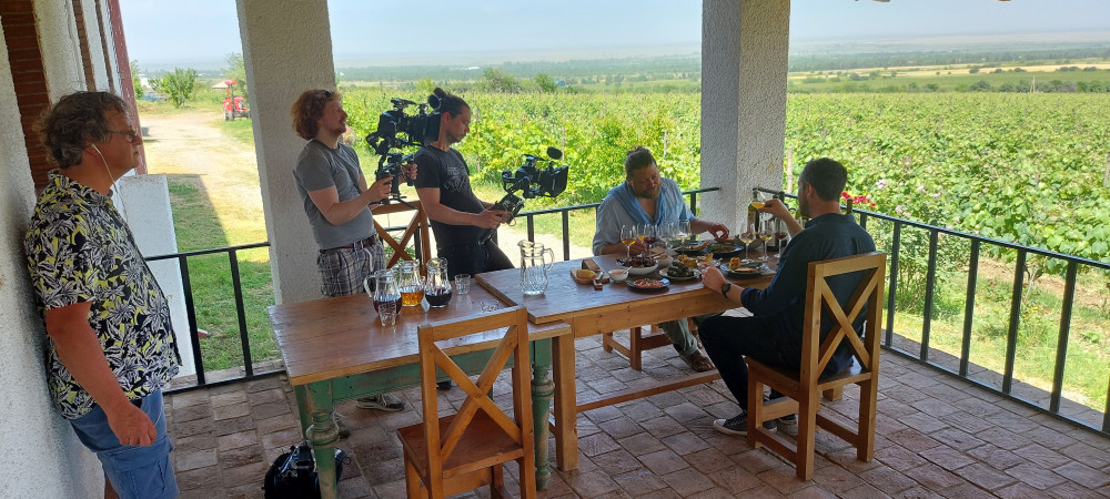 A 4-Member Film Crew From The Netherlands Visits Georgia