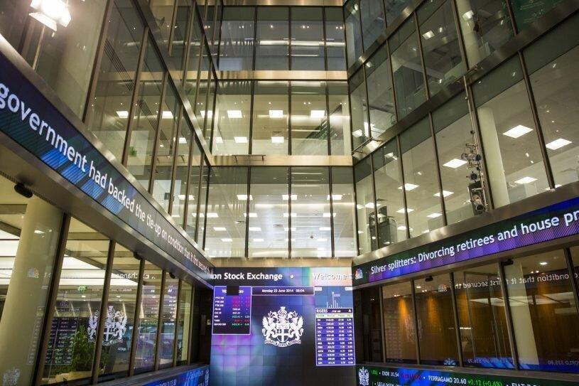 """ლონდონის საფონდო ბირჟაზე """"თიბისის"""" და """"საქართველოს ბანკის"""" აქციების ფასი გაიზარდა"""