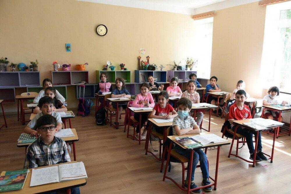 დისტანციურ სწავლებაზე იმყოფება 52 სკოლა და 139 კლასი – სამინისტრო