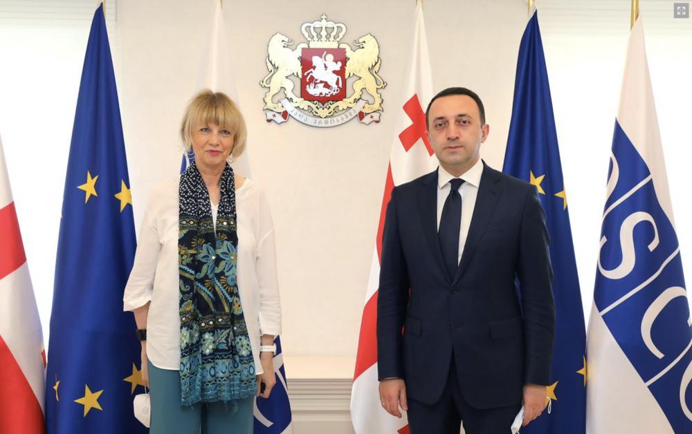 PM Met With OSCE Secretary General