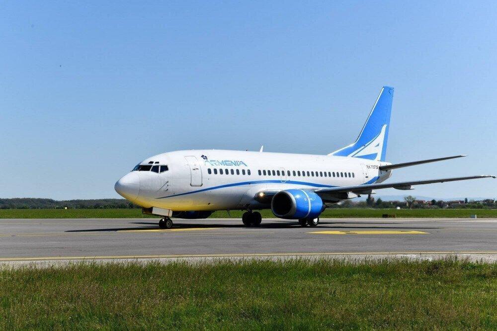 ავიაკომპანია Armenia ერევანი-ბათუმის მიმართულებით ჩარტერულ რეისებს შეასრულებს
