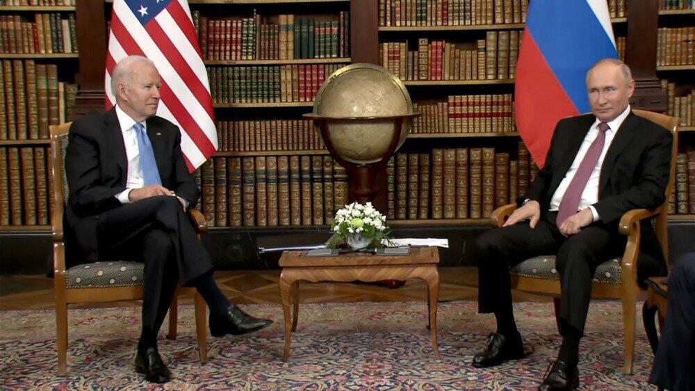 Biden and Putin meet in Geneva