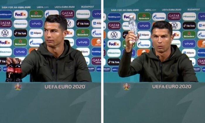 Cristiano Ronaldo Snub Wipes $4 Billion Off Coca-Cola's Market Value