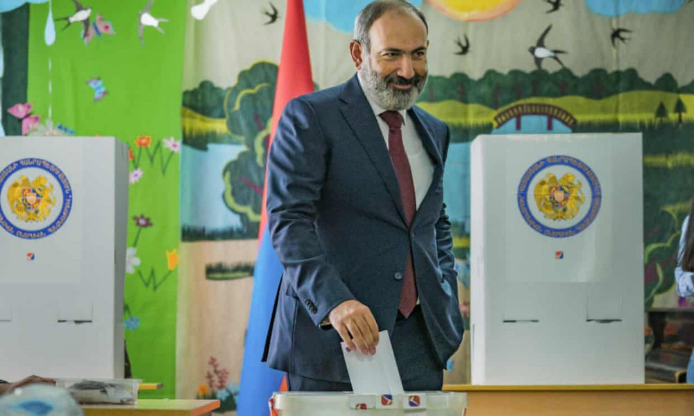 Armenian PM Wins Snap Election as Rival Alleges Fraud