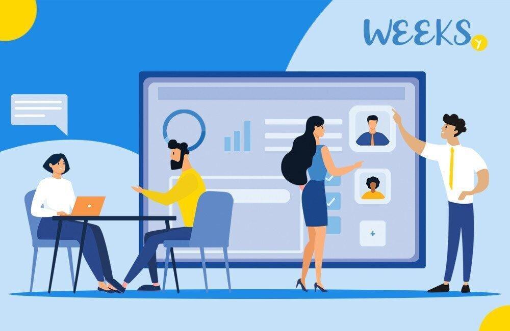 Weeksy - სამუშაო საათებისა და HR ადმინისტრირების ეფექტური გადაწყვეტილება
