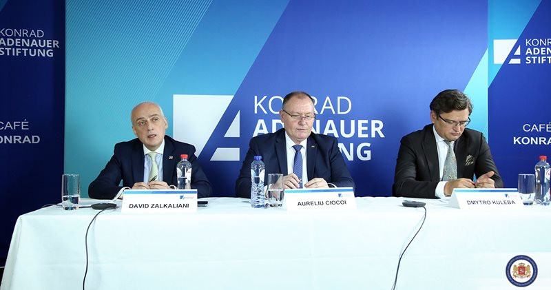 The Associated Trio Foreign Ministers Participated In Konrad-Adenauer-Stiftung Discussions