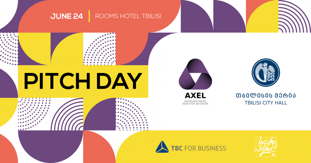 """Georgian Angel Investor Network """"Axel"""" Holds The First Pitch Day"""