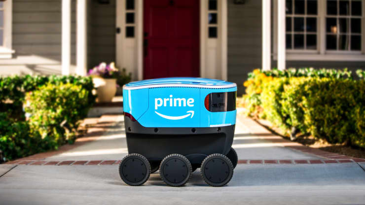 Amazon-ი მიწოდების სერვისისთვის რობოტების შექმნას გეგმავს
