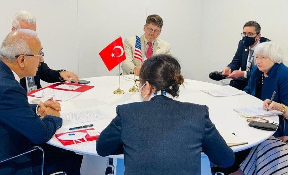 Turkish, US Treasury Chiefs Hold Talks on Boosting Economic Ties