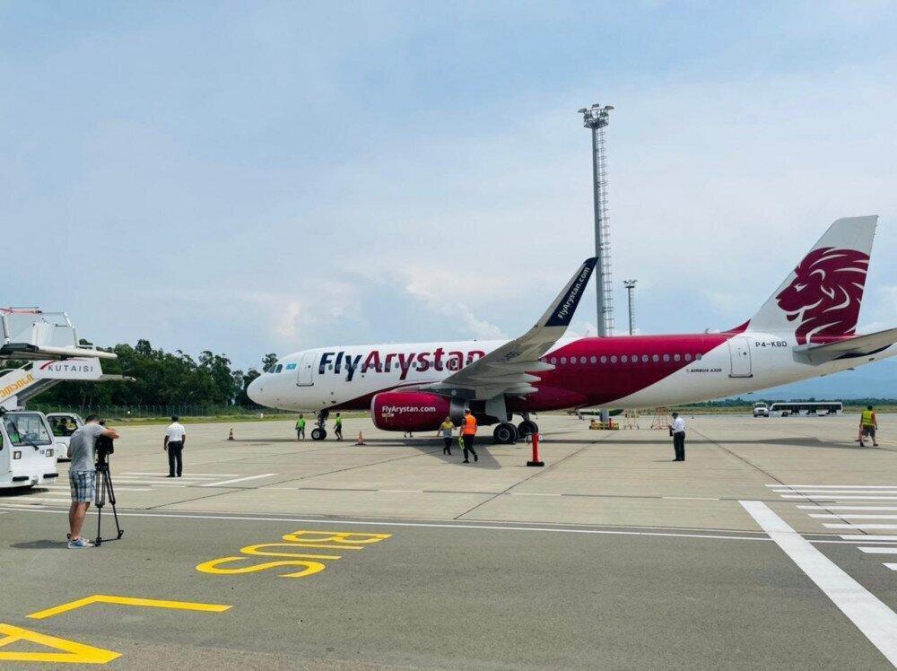შიმკენტი - ქუთაისის აეროპორტს კიდევ ერთი ახალი მიმართულება დაემატა