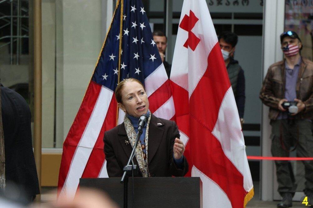 US Ambassador Kelly Degnan Responds to Irakli Gharibashvili's Statement