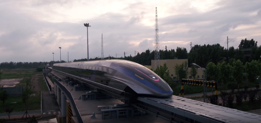 ჩინეთმა მსოფლიოში ყველაზე სწრაფი მატარებელი წარადგინა - მას საათში 600 კმ-ს დაფარვა შეუძლია