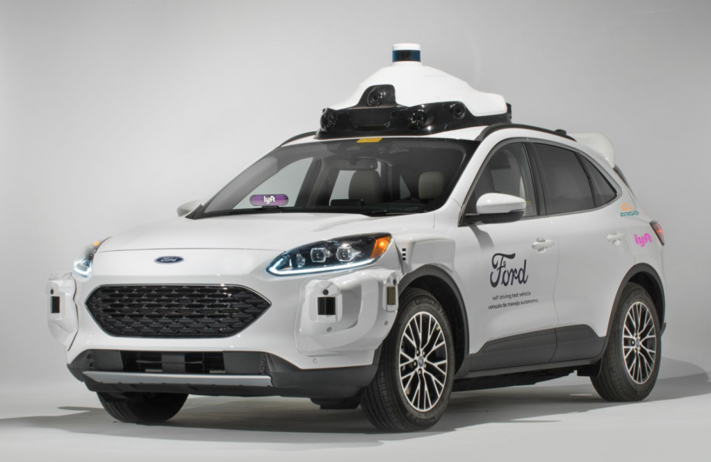 Ford's Self-Driving Cars Will Be Available in Two Cities