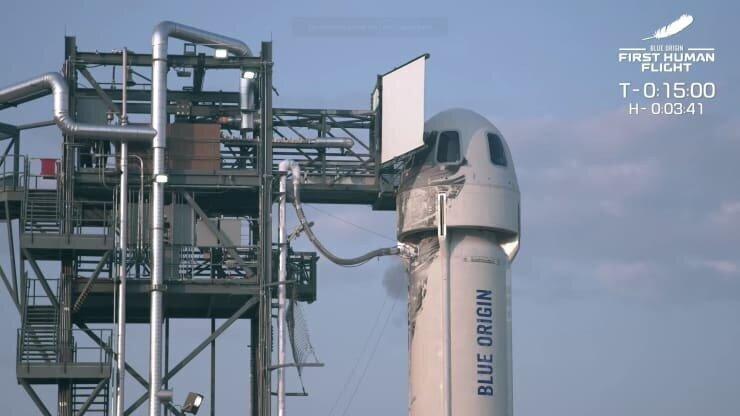 ბეზოსმა კოსმოსურ ფრენებზე 100 მილიონის ღირებულების ბილეთი გაყიდა