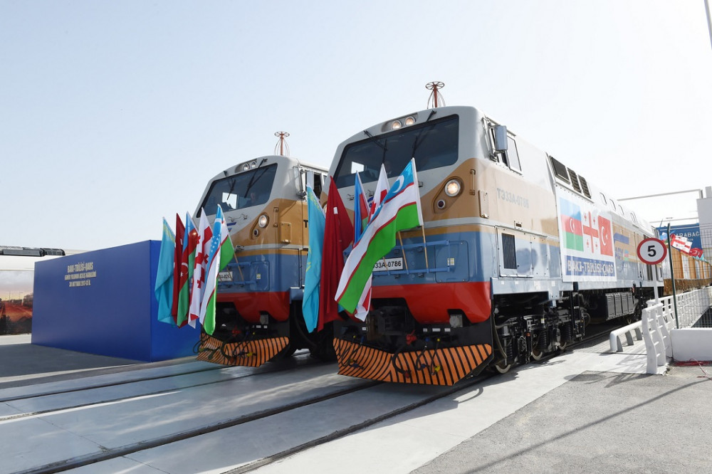 Freight Traffic via Baku-Tbilisi-Kars Hits Record