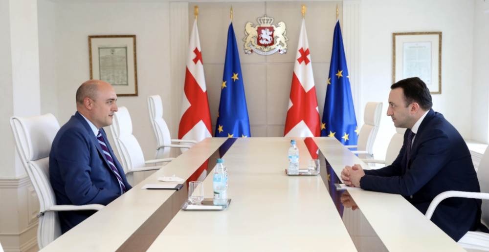 """""""Georgia's Media Policy Is One of the Most Liberal in Europe"""" - PM met with Radio Liberty's President"""