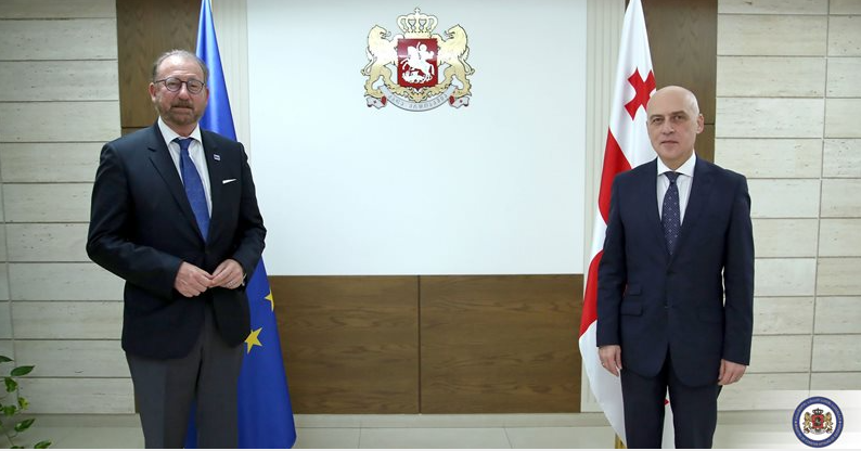 Minister of Foreign Affairs Met With The President of PACE