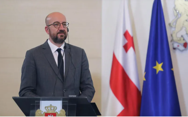 Charles Michel A Statemnet On The Political Situation In Georgia