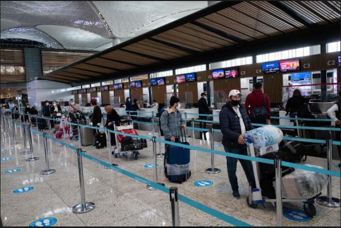 თურქეთის აეროპორტები აგვისტოში 18.3 მილიონ მგზავრს მოემსახურნენ