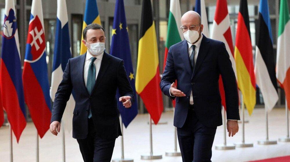 """$2.3 მილიარდის 22 ხელშეკრულებიდან მთავრობა """"უარს"""" მხოლოდ """"წინაპირობიან"""" EU-ს სესხს ეუბნება"""