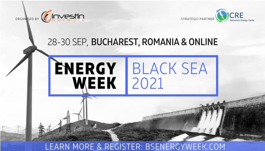 ბუქარესტსა და რუმინეთში, მაღალი დონის საინვესტიციო კონფერენცია Energy Week Black Sea გაიმართება