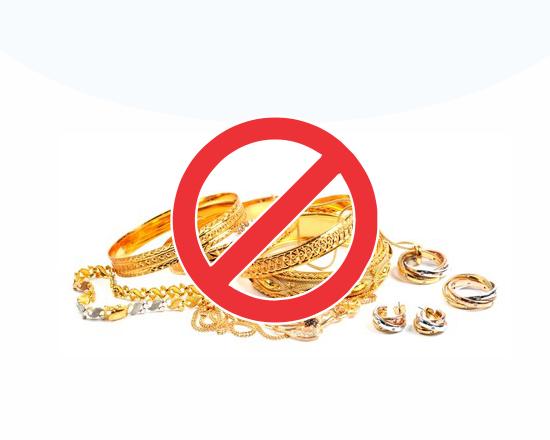 საბაჟოზე არადეკლარირებული ოქროს ნაკეთობების შემოტანის ფაქტები აღიკვეთა