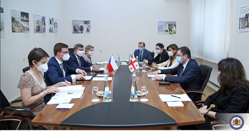 Bilateral Consultations Held Between The Ministries of Foreign Affairs of Georgia And The Czech Republic