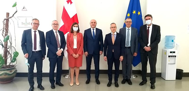 A Meeting With Representatives Of The Swiss Federal Department Of Foreign Affairs Held At The Ministry Of Foreign Affairs