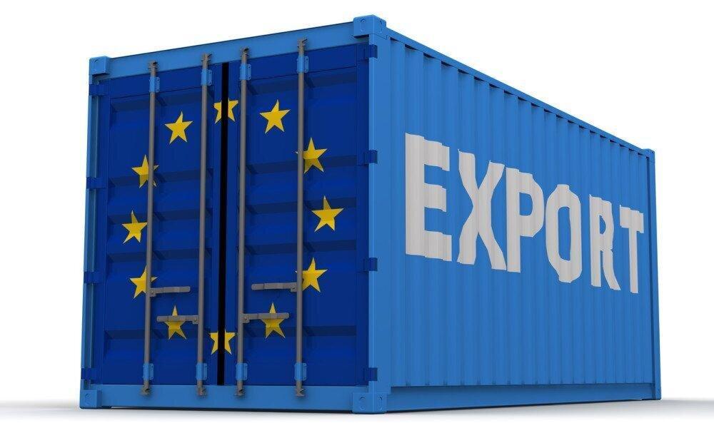 The EU International Trade in Goods Surplus €15.7 Bn