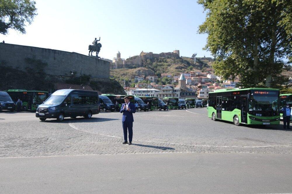 რომელ სატრანსპორტო ხაზებზე მოემსახურებიან მოსახლეობას ახალი ავტობუსები 23 სექტემბრიდან?