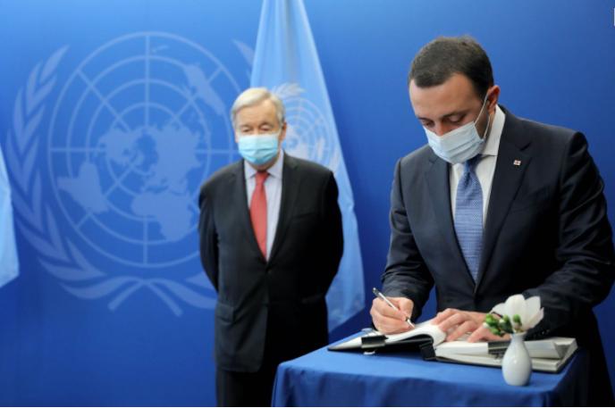 PM Spoke With UN Secretary General