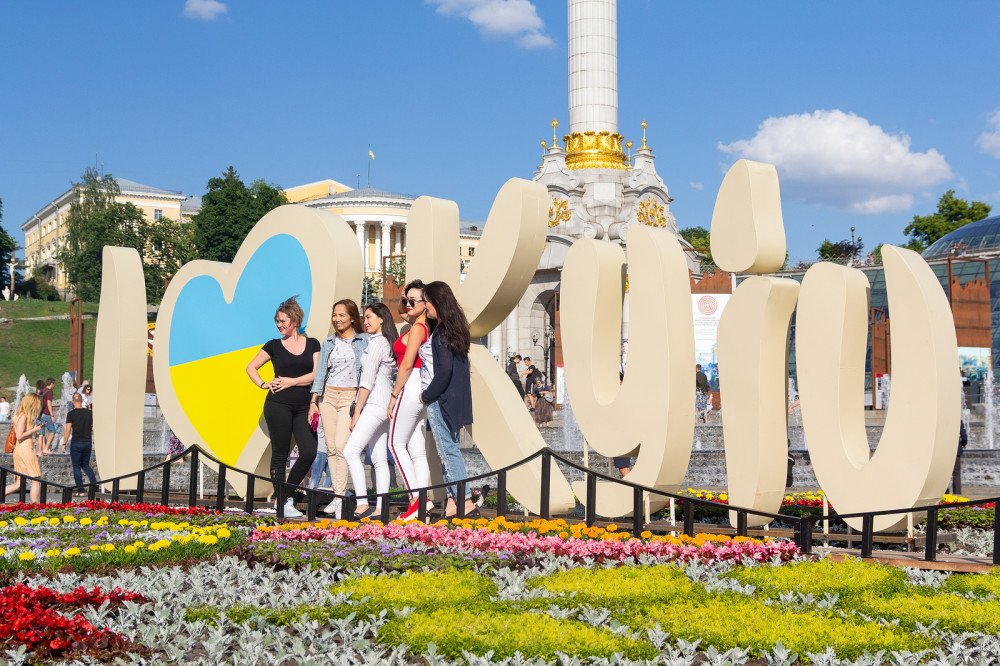 Almost 3.5M People Visited Ukraine in Summer, 70% were Europeans